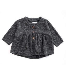 CHAQUETA NIÑA PUNTO GRIS - PLAY UP