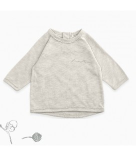CAMISETA NIÑO BEIGE - PLAY UP