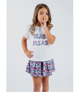 CAMISETA BEACH NIÑA
